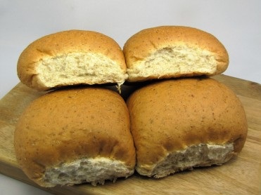 4 Large Brown Baps
