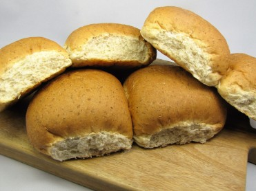 6 Brown Snack Baps