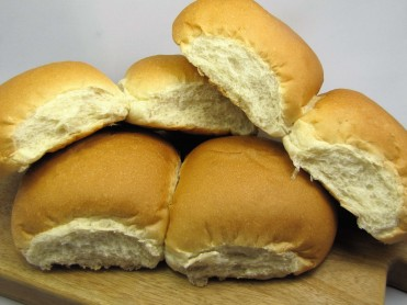 6 White Snack Baps