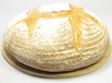 Crusty White Village Bread 900g