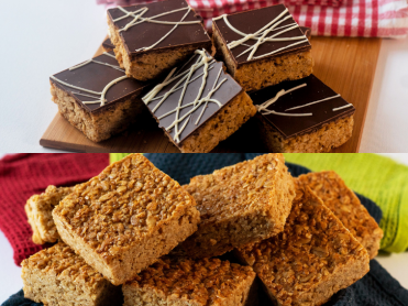 Flapjack Squares & Chocolate Flapjack Squares Mixed Case